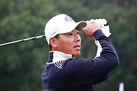 Ashun Wu (CHN) in action during the ProAm ahead of the Porsche European Open, Green Eagle Golf Club, Hamburg, Germany. 04/09/2019<br /> Picture: Golffile | Phil Inglis<br /> <br /> <br /> All photo usage must carry mandatory copyright credit (© Golffile | Phil Inglis)