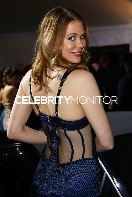 LOS ANGELES, CA, USA - MARCH 14: Maitland Ward at the Style Fashion Week Los Angeles 2014 7th Season - Day 5 held at L.A. Live Event Deck on March 14, 2014 in Los Angeles, California, United States. (Photo by Xavier Collin/Celebrity Monitor)
