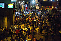 SAO PAULO 17 DE JUNHO DE 2013  - Manifestantes do Passe Livre ocupam a Marginal Pinheiros para mais um protesto contra a tarifa de onibus na tarde desta segunda feira (17) no Largo da Batata.(Foto: Amauri Nehn/Brazil Photo Press)