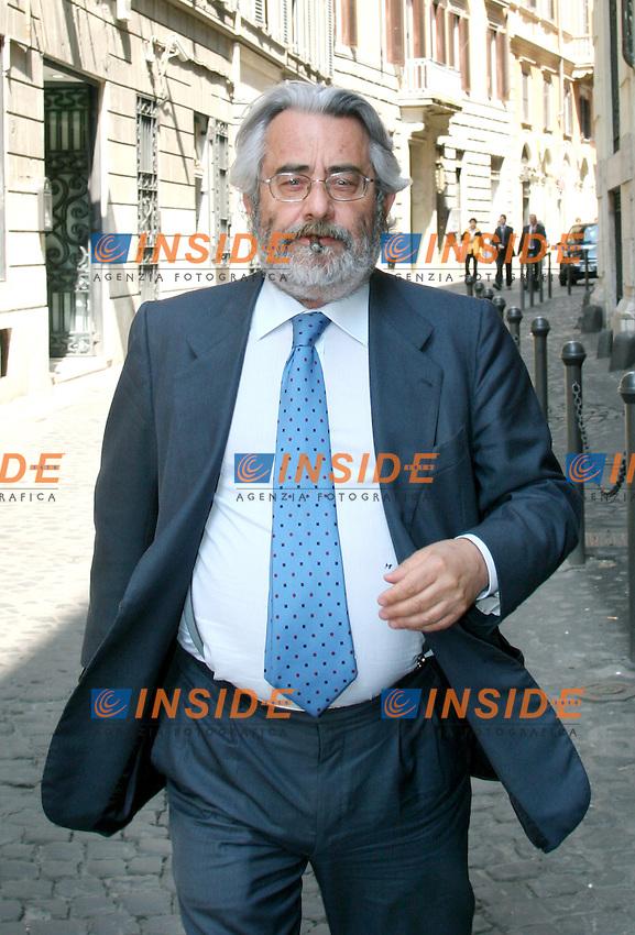 Roma, 3 maggio 2006: Palazzo Marini, Assemblea del Gruppo Parlamentare dell'Ulivo.<br /> <br /> Nella foto: Paolo Gambescia<br /> <br /> Photo: Serena Cremaschi Insidefoto