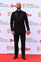 Marvin Humes<br /> arriving for the BAFTA TV Awards 2019 at the Royal Festival Hall, London<br /> <br /> ©Ash Knotek  D3501  12/05/2019