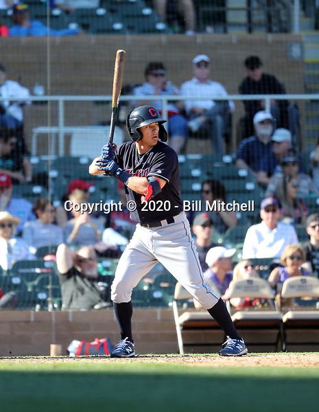 Tyler Freeman - Cleveland Indians 2020 spring training (Bill Mitchell)