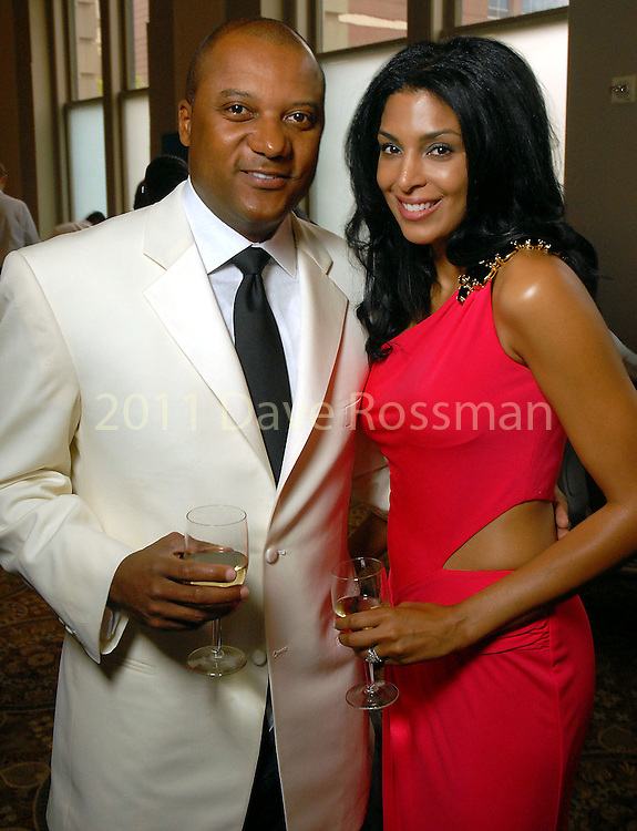 Darryl and Ursaline Hamilton at the Big Brothers Big Sisters Gala at The Corinthian Friday April 17,2009.(Dave Rossman/For the Chronicle)