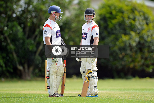 NELSON, NEW ZEALAND - NOVEMBER 26: Cricket Stoke Nayland C.C v Nelson College 1st XI, Broads, Nelson, November 26, New Zealand. (Photo by: Barry Whittnall/Shuttersport Limited)