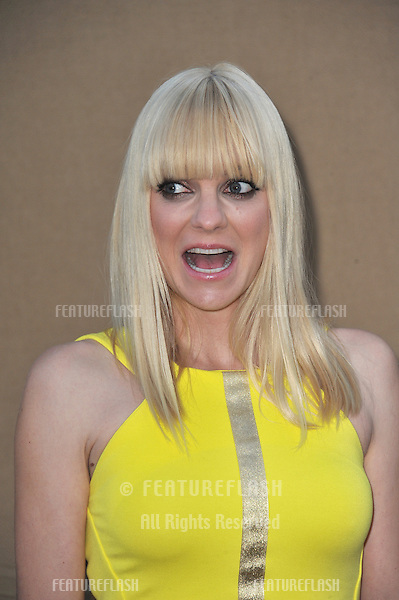 Anna Faris at the CBS 2013 Summer Stars Party in Beverly Hills.<br /> July 29, 2013  Los Angeles, CA<br /> Picture: Paul Smith / Featureflash