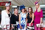 Martina McMahon (Ballybunion), Catherine O'Brien, Eileen McEnery and Aoife McEnery (Limerick) and Shelly McMahon (Ballybunion), enjoying Ladies Day at Listowel Races on Friday last.