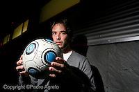 Losada N&ordm;10<br /> delantero Club Deportivo Lugo<br /> fecha:12-11-2009<br /> foto:&copy;pedro agrelo