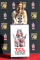 HOLLYWOOD, CA - JANUARY 22: Alwyn Hight Kushner at the Metro-Goldwyn-Mayer 90th Anniversary Celebration held at the TCL Chinese Theatre on January 22, 2014 in Hollywood, California. (Photo by Xavier Collin/Celebrity Monitor)