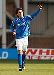 Francisco Sandaza celebrates his goal for St Johnstone