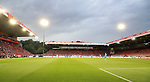 18.08.2019, Stadion an der Wuhlheide, Berlin, GER, 1.FBL, 1.FC UNION BERLIN  VS. RB Leibzig, <br /> DFL  regulations prohibit any use of photographs as image sequences and/or quasi-video<br /> im Bild Unionfans (1.FC Union Berlin), Stadioninnenansicht<br /> <br />      <br /> Foto © nordphoto / Engler