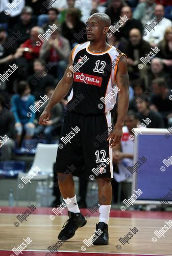2009-03-28 / Basketbal / Antwerp Giants - Leuven / Demario Anderson (Leuven)..Foto: Maarten Straetemans (SMB)