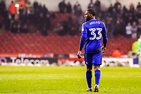 Cardiff City's midfielder Junior Hoilett (33) during the Sky Bet Championship match between Sheff United and Cardiff City at Bramall Lane, Sheffield, England on 2 April 2018. Photo by Stephen Buckley / PRiME Media Images.