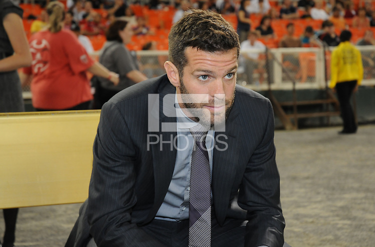 D.C. United head coach Ben Olsen. D.C. United defeated Real Salt Lake 4-1 at RFK Stadium, Saturday September 24 , 2011.