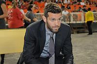 D.C. United head coach Ben Olsen. D.C. United defeated Real Salt Lake 4-1 at RFK Stadium, Saturday September 24 , 2011.