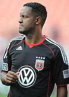 DC United forward Luciano Emilio (11).  DC United defeated Real Salt Lake 2-1 to advance to the round of 16 of the  U.S. Open Cup at RFK Stadium, Wednesday  June 2  2010.