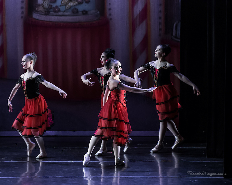 "Cary Ballet Company, ""Visions of Sugarplums"", Sun. Matinee Performance, 20 Dec. 2015, Cary Arts Center, Cary, North Carolina."