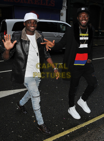 Reggie 'n' Bollie ( Reggie Zippy and Bollie Babeface ) at the Disney On Ice Mouse Bounce VIP party, 93 Mortimer Street, Mortimer Street, London, England, UK, on Wednesday 15 February 2017.<br /> CAP/CAN<br /> &copy;CAN/Capital Pictures