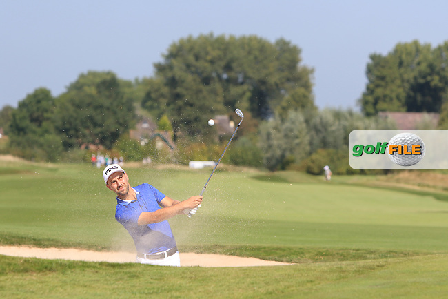 Robbie Van West (NED) on the 6th during Round 1 of the 2016 KLM Open at the Dutch Golf Club at Spijk in The Netherlands on 08/09/16.<br /> Picture: Thos Caffrey | Golffile