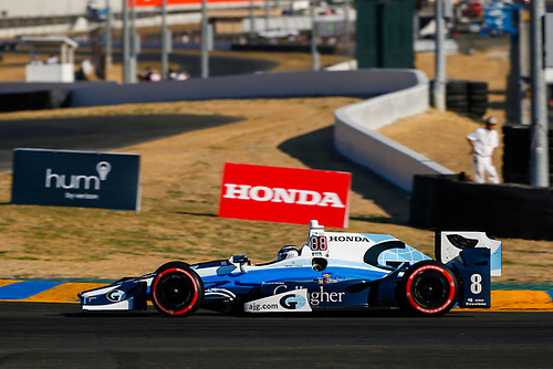 Verizon IndyCar Series<br /> GoPro Grand Prix of Sonoma<br /> Sonoma Raceway, Sonoma, CA USA<br /> Sunday 17 September 2017<br /> Max Chilton, Chip Ganassi Racing Teams Honda<br /> World Copyright: Jake Galstad<br /> LAT Images