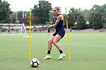 CARY, NC - JULY 27: Stephanie Ochs. The North Carolina Courage held a training session on July 27, 2017, at WakeMed Soccer Park Field 7 in Cary, NC.