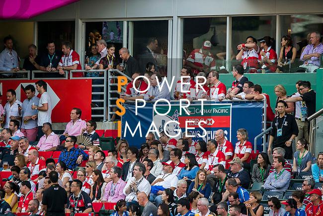 Kenya vs Japan during the HSBC Sevens Wold Series Shield Final match as part of the Cathay Pacific / HSBC Hong Kong Sevens at the Hong Kong Stadium on 29 March 2015 in Hong Kong, China. Photo by Victor Fraile / Power Sport Images