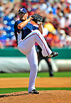 15 March 2009: Washington Nationals' pitcher Gustavo Chacin on the mound during a Spring Training game against the Detroit Tigers at Space Coast Stadium in Viera, Florida. The Tigers shut out the Nationals 3-0 in the Grapefruit League matchup. Mandatory Photo Credit: Ed Wolfstein Photo