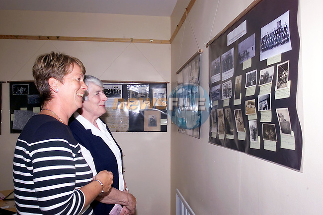 Catherine Connolly and Tessa Murphy at the art Exhibation in the Termonfeckin Credit Union...Picture Fran Caffrey Newsfile...This Picture is sent to you by:..Newsfile Ltd.The View, Millmount Abbey, Drogheda, Co Louth, Ireland..Tel: +353419871240.Fax: +353419871260.GSM: +353862500958.ISDN: +353419871010.email: pictures@newsfile.ie.www.newsfile.ie