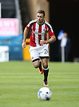 Sheffield United's Dan Lafferty in action during the League One match at the Priestfield Stadium, Gillingham. Picture date: September 4th, 2016. Pic David Klein/Sportimage