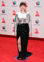 LAS VEGAS, NV - NOVEMBER 16:  Adiela Marie at the 18th Annual Latin Grammy Awards at the MGM Grand Garden Arena on November 16, 2017 in Las Vegas, Nevada. (Photo by Scott Kirkland/PictureGroup)