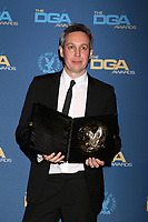 LOS ANGELES - FEB 2:  Tim Wardle at the 2019 Directors Guild of America Awards at the Dolby Ballroom on February 2, 2019 in Los Angeles, CA