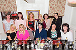 Staff from the Kerry Clinic Bons Secours Tralee enjoying a night out at the Brogue Inn on Saturday Pictured Front l-r Kerry Lynch, Lorraine Walsh, Vicky Young, Majella O'Sullivan and Geraldine Gardici.Right l-r Ann O'Callaghan, Kay Donohoe, Yvonne Quill, Marie Lovett, Ann Phelan and Serena Kennelly