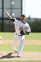 Blake Hassebrock - Oakland Athletics - 2010 Instructional League.Photo by:  Bill Mitchell/Four Seam Images..