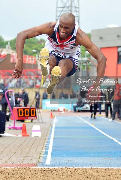 Nathan Douglas (GBR). Mens Triple Jump.  Day 2. European Team Athletics Championships. Gateshead. Tyne and Wear. UK. 23/06/2013. <br />  MANDATORY Credit Garry Bowden/SIPPA - NO UNAUTHORISED USE - 07837 394578
