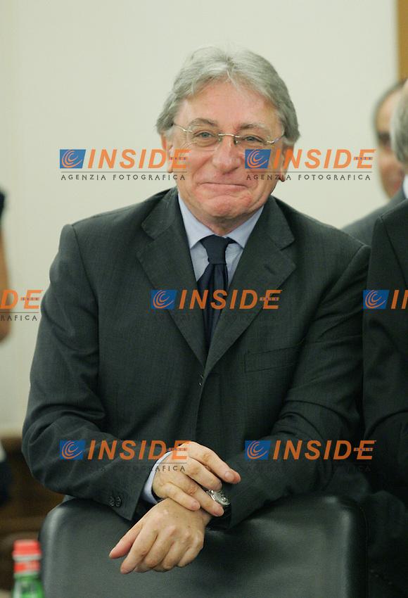 Francesco Cassano.CSM - Consiglio Superiore della Magistratura (Plenum) .Nomina del Vice Presidente.Roma, 2 Agosto 2010.Photo Serena Cremaschi Insidefoto