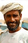 .Fisherman  in Qalantsiya. Socotra. Yemen