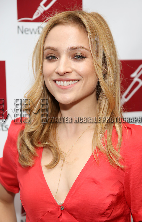 Christy Altomare attends The New Dramatists' 68th Annual Spring Luncheon at the Marriott Marquis on May 16, 2017 in New York City.