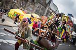 © Joel Goodman - 07973 332324 . 31 August 2013 . Rochdale , UK . Pirates on the streets of Rochdale . The Rochdale Feel Good Festival . Photo credit : Joel Goodman