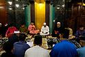 Malaysia's former Prime Minister Najib Razak attends to 72nd UMNO anniversary