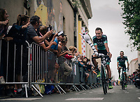 Pawel Poljanski (POL/BORA - hansgrohe) at the Team presentation in La Roche-sur-Yon<br /> <br /> Le Grand D&eacute;part 2018<br /> 105th Tour de France 2018<br /> &copy;kramon