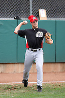 James Allen #35 of the Billings Mustangs before a game against the Ogden Raptors in a Pioneer League game at Lindquist Field on July 25, 2011 in Ogden, Utah. (Bill Mitchell/Four Seam Images)