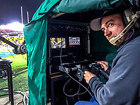 Skysport camera operator Andy Wiggins during the Rugby Championship match between the New Zealand All Blacks and South Africa Springboks at Westpac Stadium in Wellington, New Zealand on Saturday, 15 September 2018. Photo: Dave Lintott / lintottphoto.co.nz