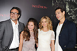 HOLLYWOOD, CA - AUGUST 28: Jeffrey Dean Morgan, Natasha Calis, Kyra Sedgwick, and Matisyahu arrive at the 'The Possession' - Los Angeles Premiere at ArcLight Cinemas on August 28, 2012 in Hollywood, California.