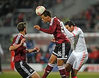 Football: Germany, 1. Bundesliga.1. FC Nuernberg.Timothy Chandler.© pixathlon