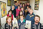 STOP THE CUTS: Members of the Presentation Secondary School, Milltown Parents Association who are holding a public meeting on the cuts in education at the school on  Friday night, with school principal, Cormac Bonner (back left).   Copyright Kerry's Eye 2008