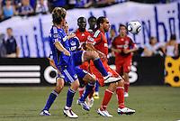 Dwayne De Rosario...Kansas City Wizards defeated Toronto FC 1-0 at Community America Ballpark, Kansas City, Kansas.