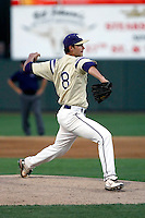 Jordan Luvisi of the Notre Dame (Scottsdale, AZ) Saints pitches in the state 4-A semi-final game against Arcadia High at Phoenix Municipal Stadium - 05/15/2009..Photo by:  Bill Mitchell/Four Seam Images