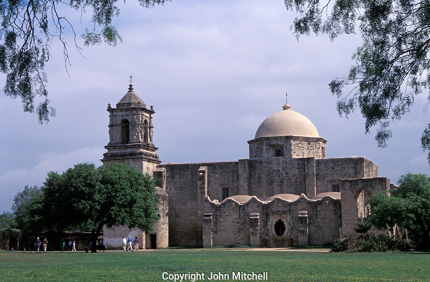 Mission San Jose in San Antonio, Texas, USA