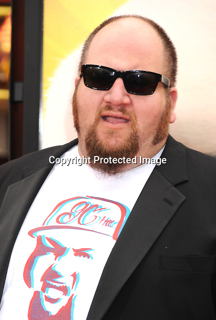 "HOLLYWOOD, {CA} -MAY 22: Stephen Kramer Glickman arrives at the Los Angeles premiere of ""Kung Fu Panda 2"" held at Grauman's Chinese Theatre on May 22, 2011 in Hollywood, California."