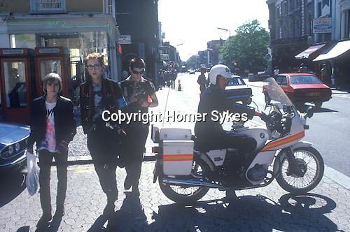 King Road Chelsea London Uk Street fashion 1979