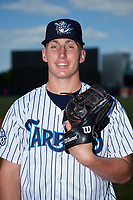 Tampa Tarpons pitcher Trevor Stephan (32) poses for a photo before a game against the Fort Myers Miracle on May 2, 2018 at George M. Steinbrenner Field in Tampa, Florida.  Fort Myers defeated Tampa Tarpons 5-0.  (Mike Janes/Four Seam Images)
